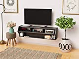 Prepac Wide Wall Mounted TV Stand