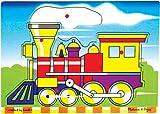 : My First Wooden Locomotive 6-piece Peg Puzzle