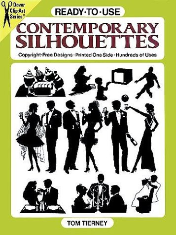 Ready-to-Use Contemporary Silhouettes (Clip Art)