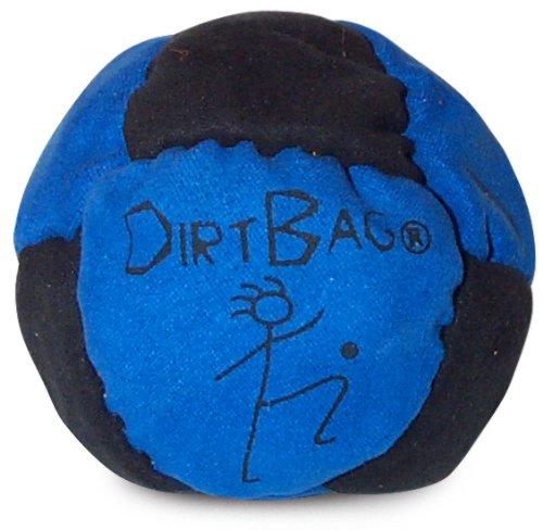 World Footbag Dirtbag Hacky Sack Footbag, Blue/Black by World Footbag