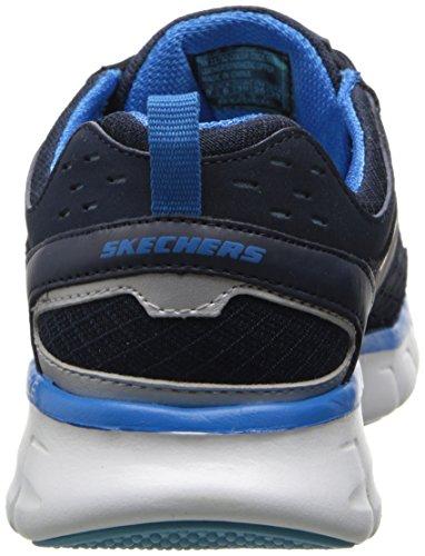 blue Navy Lister A Skechers Fashion Sport Women's Sneaker Synergy w8gqZCU