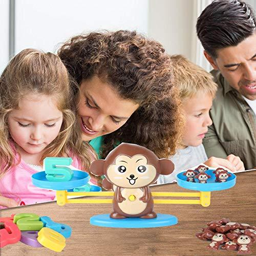 Balance Math Game Counting Toy - Monkey - tiendamia.com