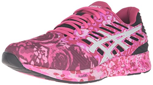 ASICS Women's FuzeX PR Running Shoe, Pink Glow/White/Pink Ribbon, 6 M US