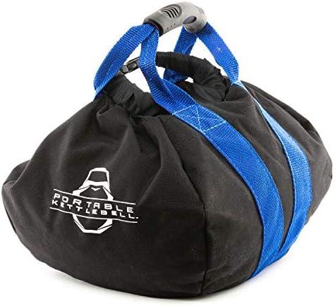PKB PORTABLE KETTLEBELLS The Original Sandbag Kettlebell – Crossfit, Travel, Yoga, Home Workout Sandbag Training Equipment Fully Adjustable Kettlebell Weights