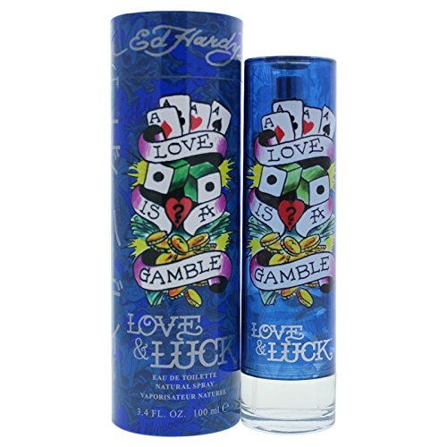 - Ed Hardy Love & Luck for Men 3.4 oz 100 ml EDT Spray