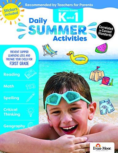 Evan-Moor Daily Summer Activities, Between Kindergarten and 1st Grade Activity ()
