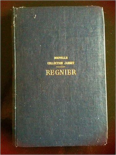 Oeuvres complètes, revues sur les anciennes éditions. Préface, notes et glossaire par Pierre Jamet. 1869. (Littérature, Dix-septième siècle) pdf epub