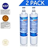 Tools & Hardware : IcePure Premium Refrigerator Replacement Water Filter, compatible with Whirlpool PUR 4396508, 4396510 for Kitchenaid Maytag Whirlpool Side By Side Refrigerator (2 pack)