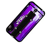 JDM Honda Vtec Purple Gloss Custom Shockproof Rubber Case By S and S Accessories(TM) for Samsung Galaxy S4 Back Phone Case