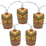 Amscan Tiki Patio String Lights, 9-Feet
