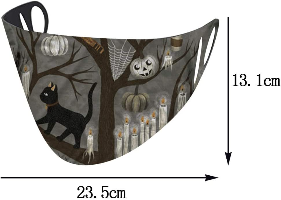 WXAN NEW PRODUSTS! 1PC Halloween Windbreak Seamless Outdoor Riding Quick-drying Dustproof Keep/_MA/_SKS And Can Protect Yourself Well Beautiful And Cute Unique Design