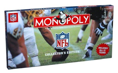 Monopoly - NFL Collectors (Football Collectors Edition Monopoly)
