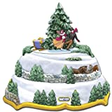 Breyer Winter Enchantment Holiday In Motion Music Box