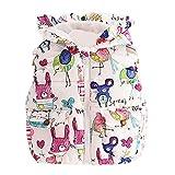 For Pretty Girls Waistcoat Clothing,Coper Little Princess Girls Animal Graffiti Warm Waistcoat Jackets (4T)