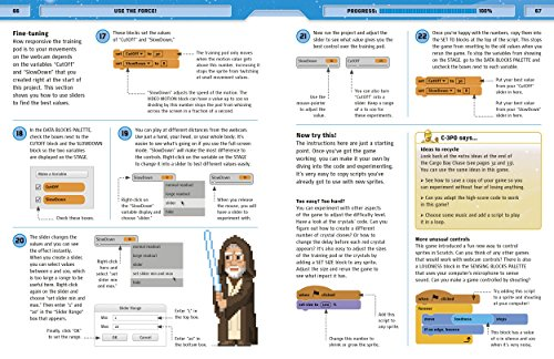 Star Wars Coding Projects: A Step-by-Step Visual Guide to Coding Your Own Animations, Games, Simulations an by DK Children (Image #10)