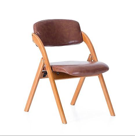 Chair QL sillones Plegables Silla de Comedor Silla de Estilo ...