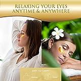 Eye Patches, HOPEMATE Under Eye Mask, 24K Gold Eye