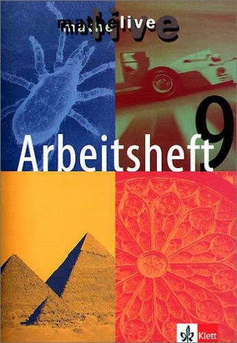 Mathe live. 9 E. Schuljahr. Arbeitsheft ebook