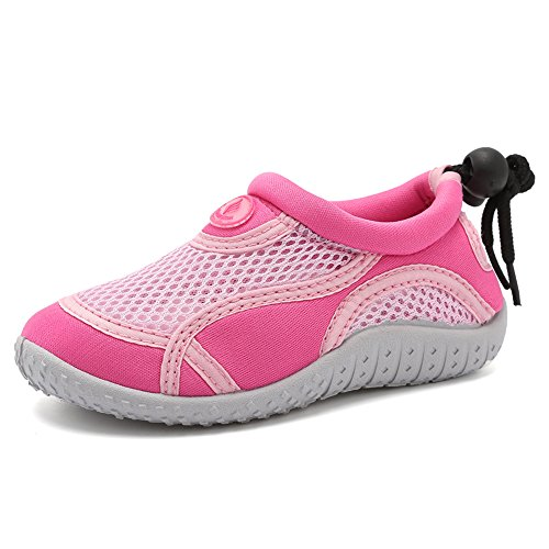 - CIOR Toddler Water Shoes Aqua Shoe Swimming Pool Beach Sports Quick Drying Athletic Shoes for Girls and Boys ...U119STHSX,Classic.Pink,23