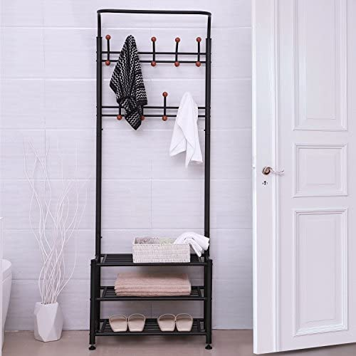 SONGMICS Entryway Coat Rack