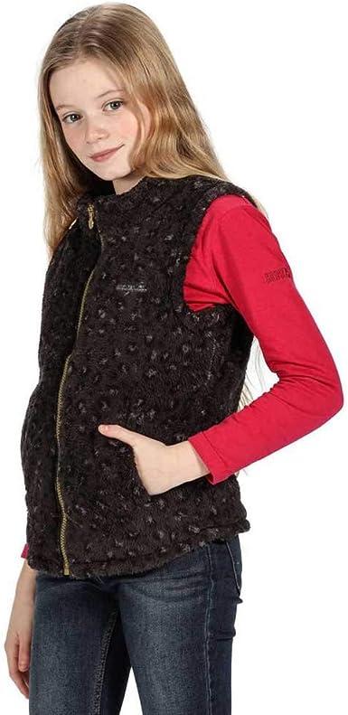 Beb/é-Ni/ños Regatta Radinka B//W Heavyweight Fluffy Fleece Calentadores de Cuerpo