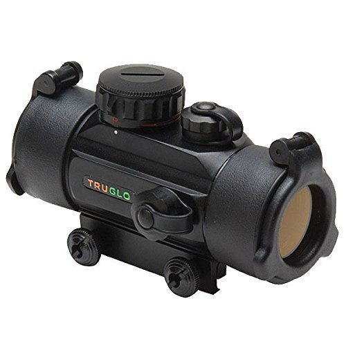 Truglo Crossbow Red Dot Sight 30mm 3-Dot Black - Red Dot Bow Sights