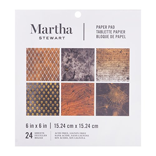 Martha Stewart 6 x 6 Paper Pad Halloween Traditional]()