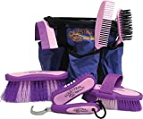 Desert Equestrian Equestria 8 Piece Grooming Set Color Purple