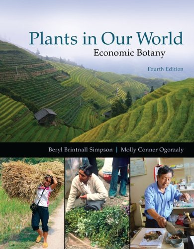 Plants In Our World:Economic Botany
