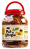Pet 'n Shape Chik 'n Rings - 100-Percent Natural Chicken Jerky Dog Treats Tub, 2-Pound