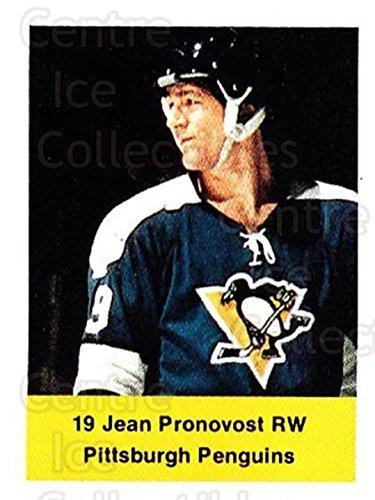 (CI) Jean Pronovost Hockey Card 1974-75 NHL Action Stamps 217 Jean ()