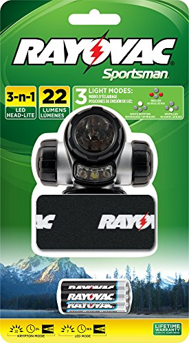 Rayovac SPHLTLED BB Sportsman Headlight Batteries