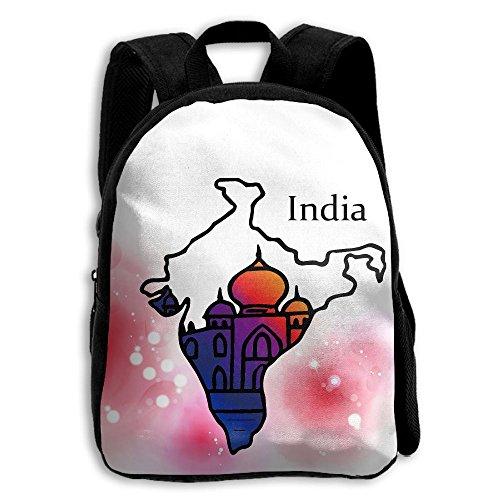 The Children's India Taj Mahal Flag Map Backpack ()