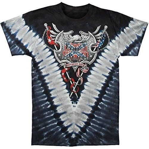 Lynyrd Skynyrd - Southern Rock Shield T-Shirt - Tie-Dye-Technik
