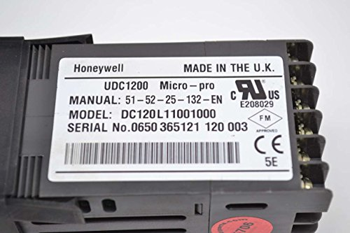 new honeywell dc120l11001000 micro pro udc120l 100 240v ac rh desertcart ae  honeywell udc120l manual español