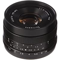 7artisans 50mm F/1.8 Manual Focus MF Fixed Lens for Fujifilm FX Mount X-T10 X-Pro1 X-Pro2 X-A1 X-A2 X-A3 X-A5 X-H1 X-E1 X-E2 X-E3 X-A10 X-A20 X-E2S X-M X-T1 Dslr Cameras