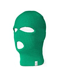 Face Ski Mask 3 Hole (More Colors)- Kelly Green