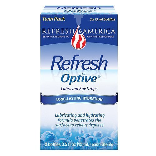 (Refresh Optive, Lubricant Eye Drops, 2 Bottles 0.5 fl oz)