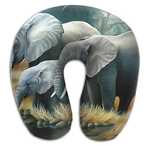 Owen Pullman Travel Pillow Elephant Memory Foam Neck Pillow Comfortable U Shaped Neck Support Plane Pillow]()