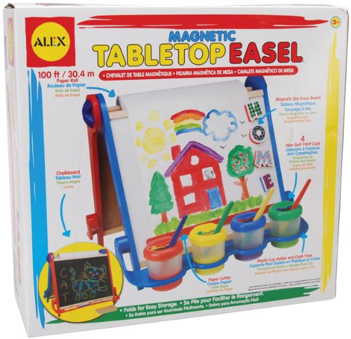 Magnetic Table Top Easel Kit 1 pcs SKU# 663953MA (Alex Magnetic Tabletop Easel compare prices)