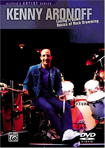 DVD : Kenny Aronoff - Laying It Down: Basics Of Rock Drumming (DVD)