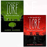 World of lore monstrous creatures[hardcover], wicked mortals 2 books collection set