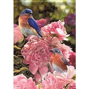 Bandera de jardín Aric Bluebird Bliss 45333