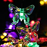 490CM 30 LED Window Curtain Lights String Lamp House Party Decor Striking,Solar Energy,Tuscom (Multicolor)