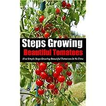 Steps Growing Beautiful Tomatoes: Five Simple Steps Growing Beautiful Tomatoes in No Time
