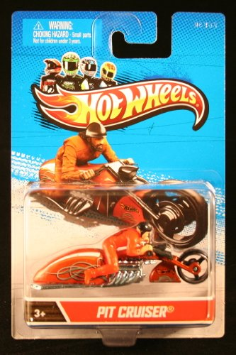 Hot Wheels X2075 Hot Wheels™ Motorcycle With Rider Assorted Styles