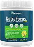 NEW!! NutraFocus - All Natural Advanced Brain Support for Kids. Supports Focus, Attention, Mood and Learning. Great Tasting Powder Formulation,QTY 30 scoops