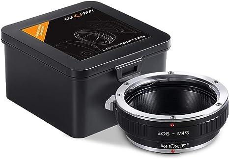 Canon EOS-M4//3  EF lens to Micro 4//3 M43 Mount Adapter For E-P3 E-PL2 Panasonic