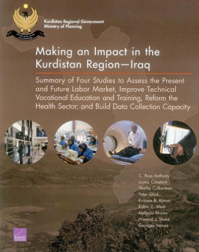 Making an Impact in the Kurdistan RegionIraq: Summary of Four Studies to Assess the Present and Future Labor Market, Improve Technical Vocational ... Sector, and Build Data Collection Capacity