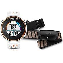 Garmin Forerunner 620 Orange/White GPS Running Watch with HRM (010-01128-41)